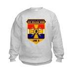 USS Belleau Wood LHA 3 US Navy Kids Sweatshirt
