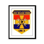USS Belleau Wood LHA 3 US Navy Framed Panel Print