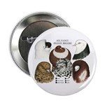 "Six Pigeons 2.25"" Button (10 pack)"