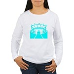 Cyan Stadium Women's Long Sleeve T-Shirt