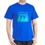 Cyan Stadium Dark T-Shirt