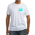 Cyan Stadium Fitted T-Shirt