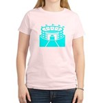 Cyan Stadium Women's Light T-Shirt