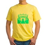 Cyan Stadium Yellow T-Shirt