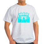 Cyan Stadium Light T-Shirt