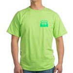 Cyan Stadium Green T-Shirt