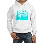 Cyan Stadium Hooded Sweatshirt