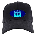 Cyan Stadium Black Cap