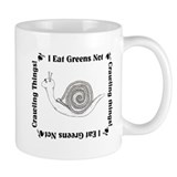 Vegetarian Snail Small Mug