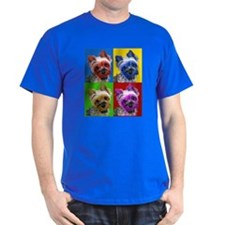 Pop Art Yorkie Camisetas