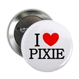 "I Love Pixie 2.25"" Button (100 pack)"