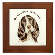 English Springer Spaniel  Framed Tile