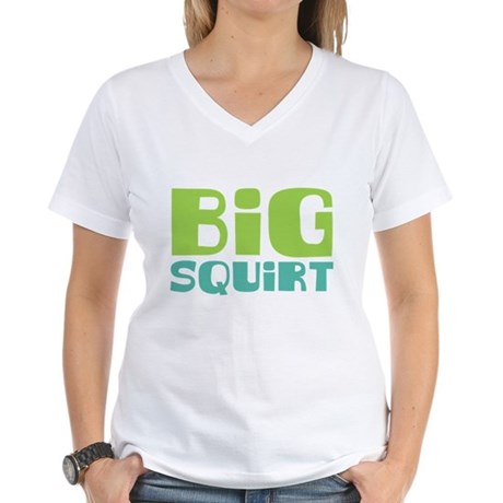 Big Squirt Women's V-Neck T-Shirt