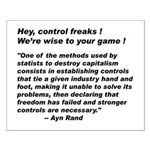 16x20 Control Freaks Poster