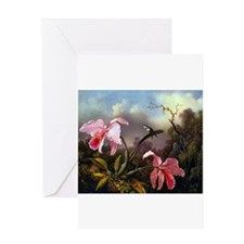 Cute Valentines day tropical Greeting Card