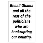 35x23 Bankrupters' Poster
