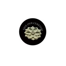 Unique Gravestone design Mini Button (100 pack)