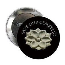 "2.25"" Rosette Button (100 pack)"