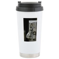 Stone Rose Ceramic Travel Mug
