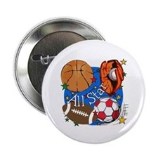"All Star Sports 2.25"" Button"