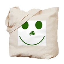 Irish Smiley Face Tote Bag