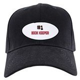 Number 1 BOOK KEEPER Baseball Hat