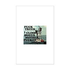 buoys Mini Poster Print