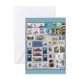 Philatelist Greeting Card