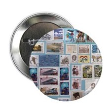 "Philatelist 2.25"" Button"