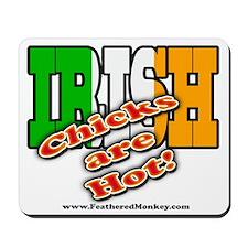 Irish Chicks; Mousepad