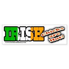 Irish Chicks; Bumper Bumper Sticker