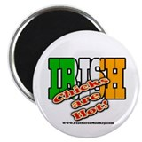 "Irish Chicks; 2.25"" Magnet (100 pack)"