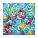 Shrimp Boil Tile Coaster