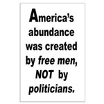 35x23 America's abundance Poster