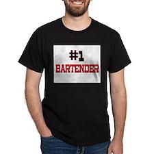 Number 1 BARTENDER T-Shirt