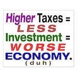 16x20 Worse Economy Poster