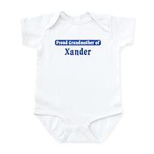 Grandmother of Xander Infant Bodysuit