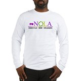 re-NOLA . Rebuild New Orleans Long Sleeve T-Shirt