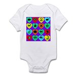 Zoo Hearts Infant Creeper