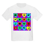 Zoo Hearts Kids T-Shirt