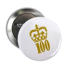 "100th Birthday 2.25"" Button (100 pack)"
