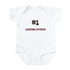Number 1 ADVERTISING COPYWRITER Infant Bodysuit