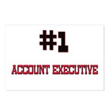Number 1 ACCOUNT EXECUTIVE Postcards (Package of 8