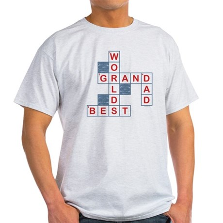 Crossword Grandpa Light T-Shirt