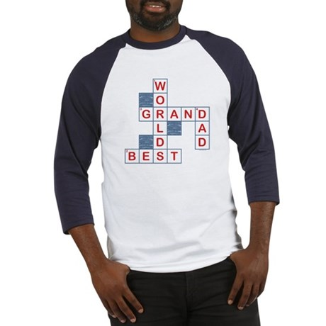 Crossword Grandpa Baseball Jersey