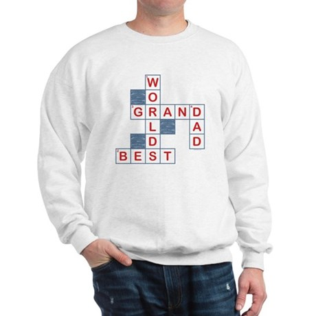 Crossword Grandpa Sweatshirt