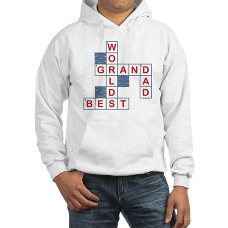 Crossword Grandpa Hooded Sweatshirt