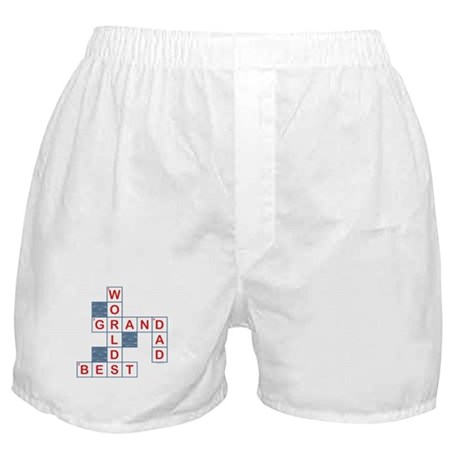 Crossword Grandpa Boxer Shorts