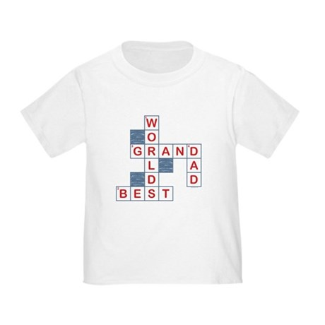 Crossword Grandpa Toddler T-Shirt