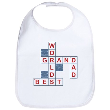 Crossword Grandpa Bib
